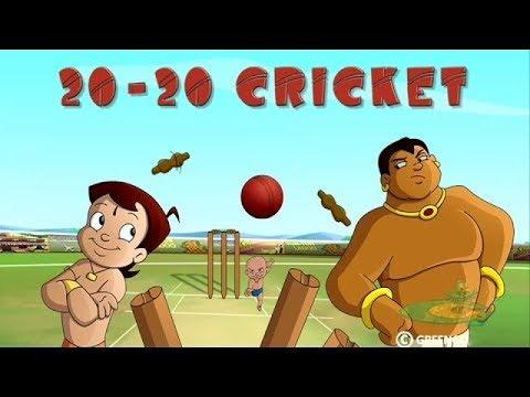 Chhota Bheem & Mighty Raju - IPL T20 Cricket Match