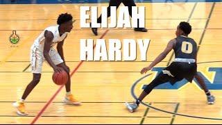 PG Elijah Hardy Leads The BIG TIME Upset against Top Ranked Bishop Montgomery!