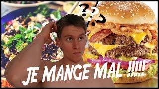 JE MANGE MAL !!!! (Ep.1)