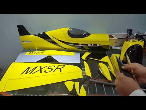 HobbyKing MXS R 64in 20cc unboxing review