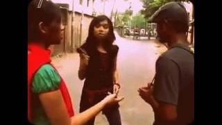 Desi college girl tease two boy in public (Very very funny)