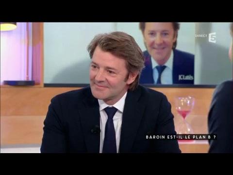 François Baroin - C à vous - 15/02/2017