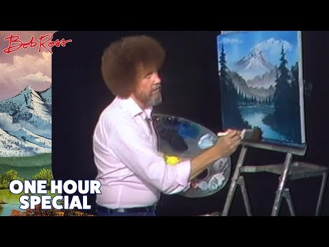 Bob Ross 1 Hour Special The Grandeur of Summer