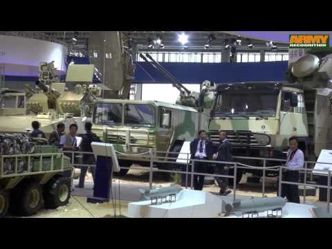 watch China Norinco wide range high-tech military equipment combat vehicles AirShow China 2014