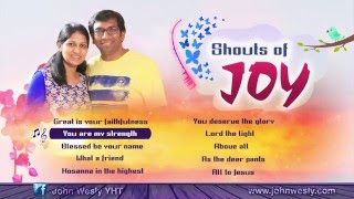 Shouts of Joy || English Songs Juke Box || Mrs. Blessie Wesly