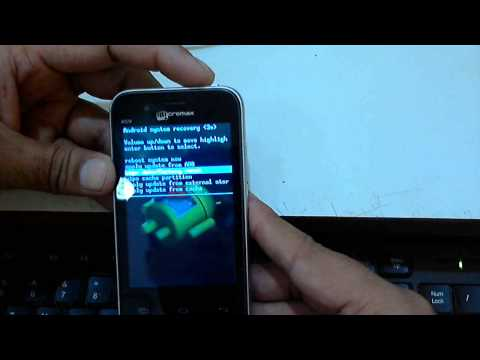 Micromax A59 Hard Reset