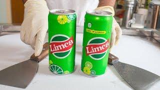 LIMCA Lemon Drink ICE CREAM ROLLS - SATISFYING ASMR VIDEO