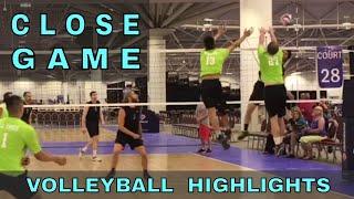 CLOSE GAME - KC Royal vs Tall Ones Volleyball HIGHLIGHTS (USAV 2017 Nationals)