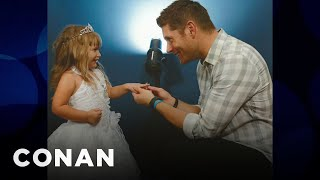 A 5-Year-Old Proposed To Jensen Ackles  - CONAN on TBS