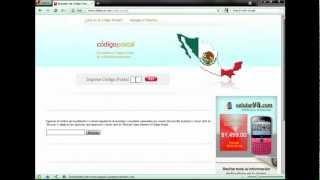 Codigo postal de México