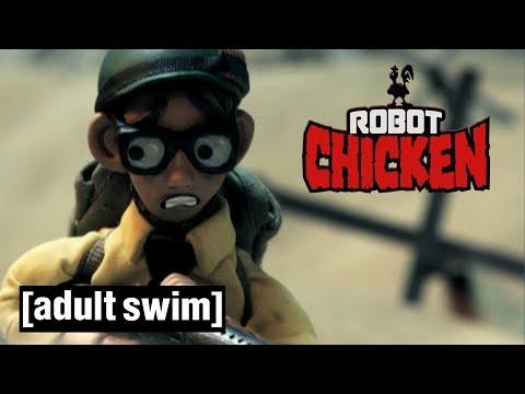 3 Steven Spielberg Classics Robot Chicken Adult Swim