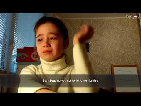 Xxx Mp4 Heartbroken Russian YouTube Star Alina 10 In Tears 3gp Sex