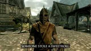♫ Arrow in the Knee (Skyrim Music Video) | Johnny
