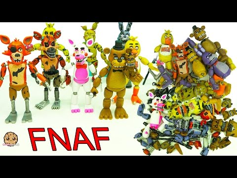 Xxx Mp4 FNAF In Pieces Complete Set Of Five Night S At Freddy S Funko Surprise Blind Bags 3gp Sex