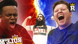 KSI vs Behzinga: STRENGTH CHALLENGE | Rule'm Sports