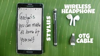 3 Awesome Phone Gadgets you can make at Home-Life hacks