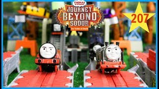 THOMAS AND FRIENDS THE GREAT RACE #207 Journey Beyond Sodor Merlin Hurricane Steelworks Thomas