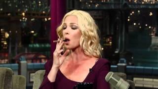 David Letterman   Katherine Heigl 39 s Fake Smoke