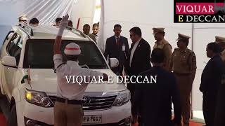 Convey of Iran president Hassan roohani arrived & Asaduddin Owaisi & DY CM Mahmood Ali At Mecca masj
