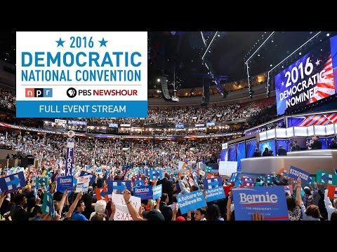 Watch the Full 2016 Democratic National Convention Day 3