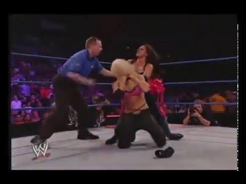 Dawn Marie vs Torrie Wilson Bra & Panties Match