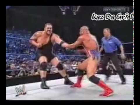 Zach Gowen Helps Kurt Angle...
