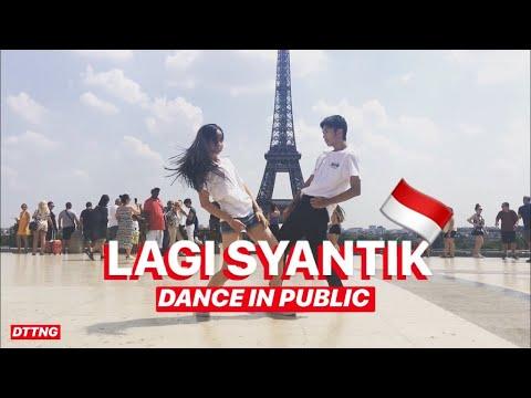 SITI BADRIAH - LAGI SYANTIK DANCE IN PUBLIC by Océane & David | Choreo by Natya Shina