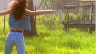 Shania Twain in blue jeans hot