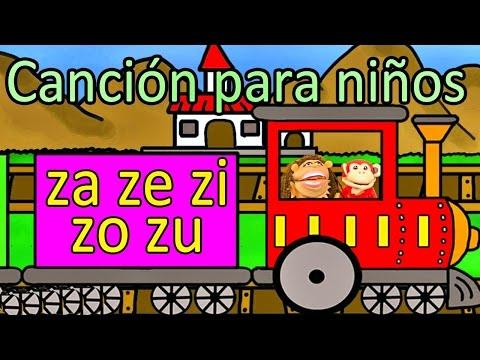 Xxx Mp4 Canción Za Ze Zi Zo Zu El Mono Sílabo Videos Infantiles Educación Para Niños 3gp Sex