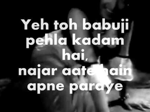 Xxx Mp4 Babuji Dheere Chalna Karaoke Lyrics Aar Paar 3gp Sex