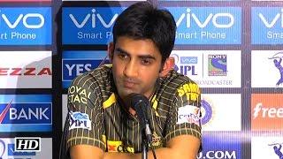 IPL 9 SRH vs KKR: KKR will bounce back with win: Gambhir