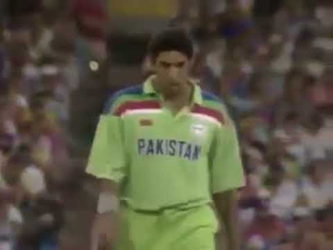 Wasim Akram s Best Over in 1992 World Cup Final