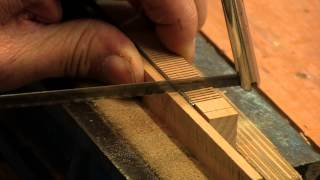 Recutting and Resizing Saw Teeth | Paul Sellers