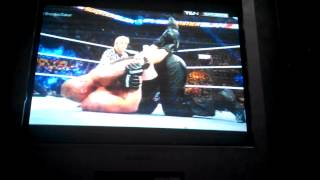 Brock Lesnar vs Undertaker Summer Slam 2015