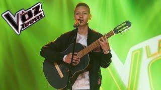 Juan Diego canta 'Te vi venir'   Audiciones a ciegas   La Voz Teens Colombia 2016