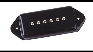 Music Man MM90 + Gibson SG  - P90 Soapbar -  Mydelniczka kopie dupę - FOG 194