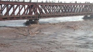 Flood in Chenab River 2014 (Flood in Darya e Chanab 2014) потоп, Inundar