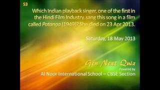 Who is this Indian Playback singer?