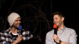 Jensen and Jared Panel VegasCon 2015 Supernatural