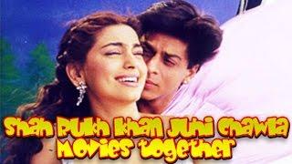 Shah Rukh Khan Juhi Chawla Movies together :  Bollywood Films List 🎥 🎬