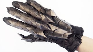 How to Make 3D Printed Gauntlets for the Witch King of Angmar Costume Part 2