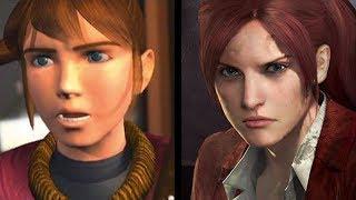 Claire Redfield: Evolution (1998-2015)