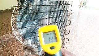 How to make air conditioner at home using Refrigerator condenser   - Easy life hacks