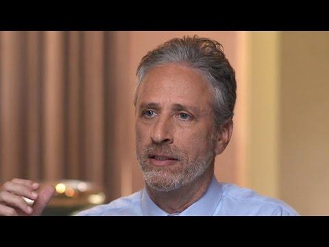 Jon Stewart on President elect Trump hypocrisy in America