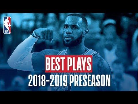 Xxx Mp4 The Best Plays Of The 2018 2019 NBA Preseason 3gp Sex