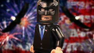 Lego Batman Runs For President