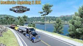 ✅ American Truck Simulator - Realistic Lighting 2 JBX Graphics Mod