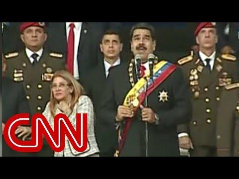 Xxx Mp4 Venezuelan President Nicolas Maduro Evacuated From Stage 3gp Sex