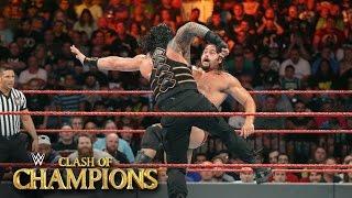 Roman Reigns vs. Rusev - U.S. Title Match: WWE Clash of Champions 2016 on WWE Network