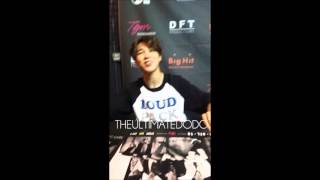 JUNGKOOK CALLS ME NOONA [FANCAM] 150926 BTS Autograph Session @ Highlight Tour Atlanta 2015